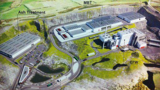 £240 Million Waste Incinerator planned for Mallusk, Co. Antrim