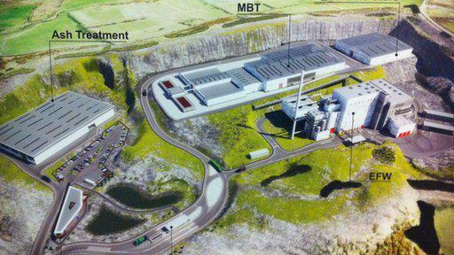 £240 Million Waste Incinerator planned for Mallusk, Co. Antrim